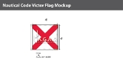 Victor Deluxe Flags 4x4 foot