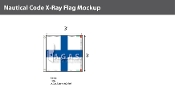 X-Ray Deluxe Flags 3x3 foot