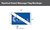 Guest Deluxe Flags 10x15 inch