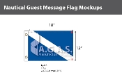 Guest Deluxe Flags 12x18 inch