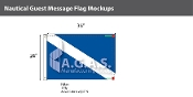 Guest Deluxe Flags 24x36 inch