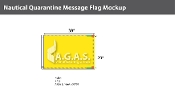 Quarantine Deluxe Flags 20x30 inch