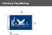 Secretary Deluxe Flags 12x18 inch