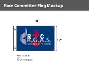 Race Commitee Flags 12x18 inch