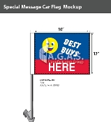 Best Buys Here Car Flags 12x16 inch