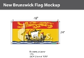 New Brunswick Flags 2x4 foot