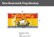New Brunswick Flags 3x6 foot