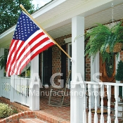 USA 200D Nylon Embroidered Flags