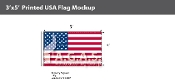 USA Flags 3x5 foot