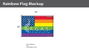 New Old Glory Pride  Deluxe Flag 10'X15'