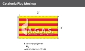Catalonia Flags 3x5 foot
