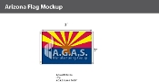 Arizona Flags 2x3 foot