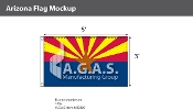 Arizona Flags 3x5 foot