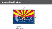 Arizona Flags 4x6 foot