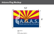 Arizona Flags 8x12 foot