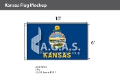 Kansas Flags 6x10 foot
