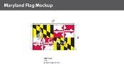 Maryland Flags 5x8 foot