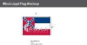 Mississippi Flags 2x3 foot
