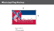 Mississippi Flags 3x5 foot