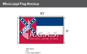 Mississippi Flags 6x10 foot