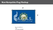 New Hampshire Flags 3x5 foot