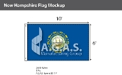 New Hampshire Flags 6x10 foot
