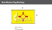 New Mexico Flags 3x5 foot