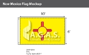 New Mexico Flags 6x10 foot