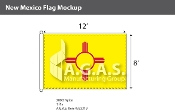 New Mexico Flags 8x12 foot