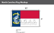 North Carolina Flags 6x10 foot