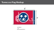 Tennessee Flags 4x6 foot