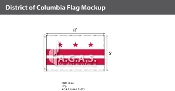 District of Columbia Flags 5x8 foot