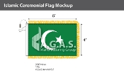 Islamic Ceremonial Flags 4x6 foot