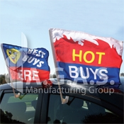 Advertising Car Flags