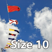 Size 10 International Code of Signals