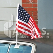 USA Car Flags