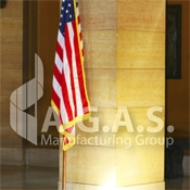 USA Ceremonial Embroidered Flags