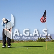 USA Embroidered Golf Flags