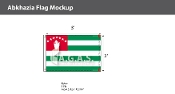 Abkhazia Flags 2x3 foot