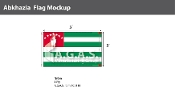 Abkhazia Flags 3x5 foot