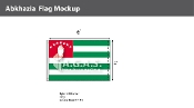 Abkhazia Flags 4x6 foot