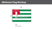 Abkhazia Flags 8x12 foot