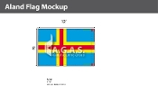 Aland Flags 8x12 foot