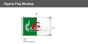 Algeria Flags 2x3 foot