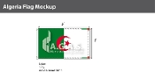 Algeria Flags 3x5 foot