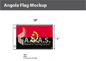 Angola Flags 12x18 inch