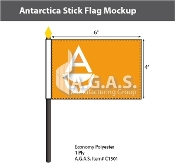 Antarctica Stick Flags 4x6 inch (Whitney Smith)