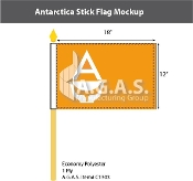 Antarctica Stick Flags 12x18 inch (Whitney Smith)