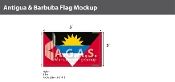 Antigua & Barbuda Flags 3x5 foot