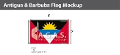 Antigua & Barbuda Flags 5x8 foot